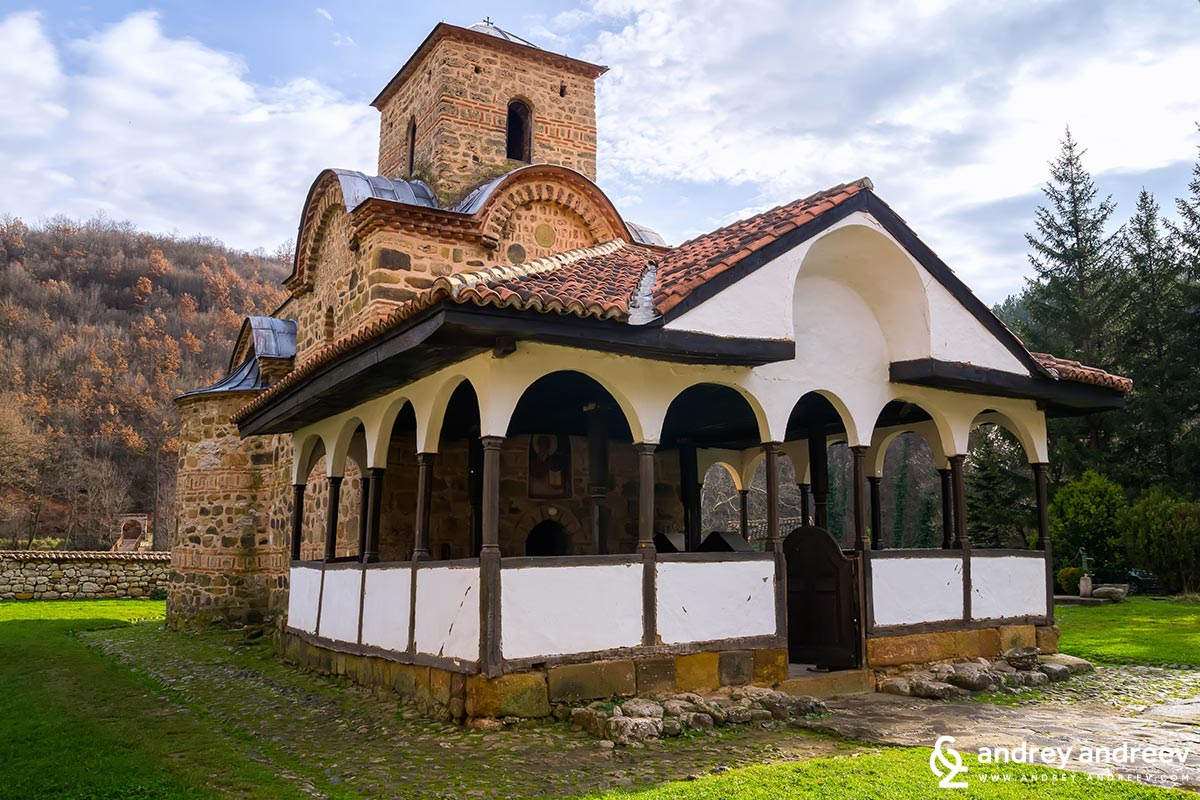 The church in Poganovo Monastery