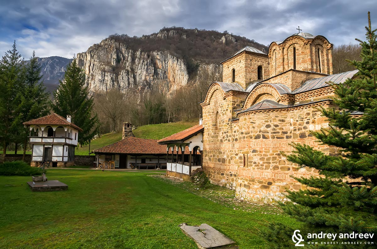 Poganovo Monastery in Serbia