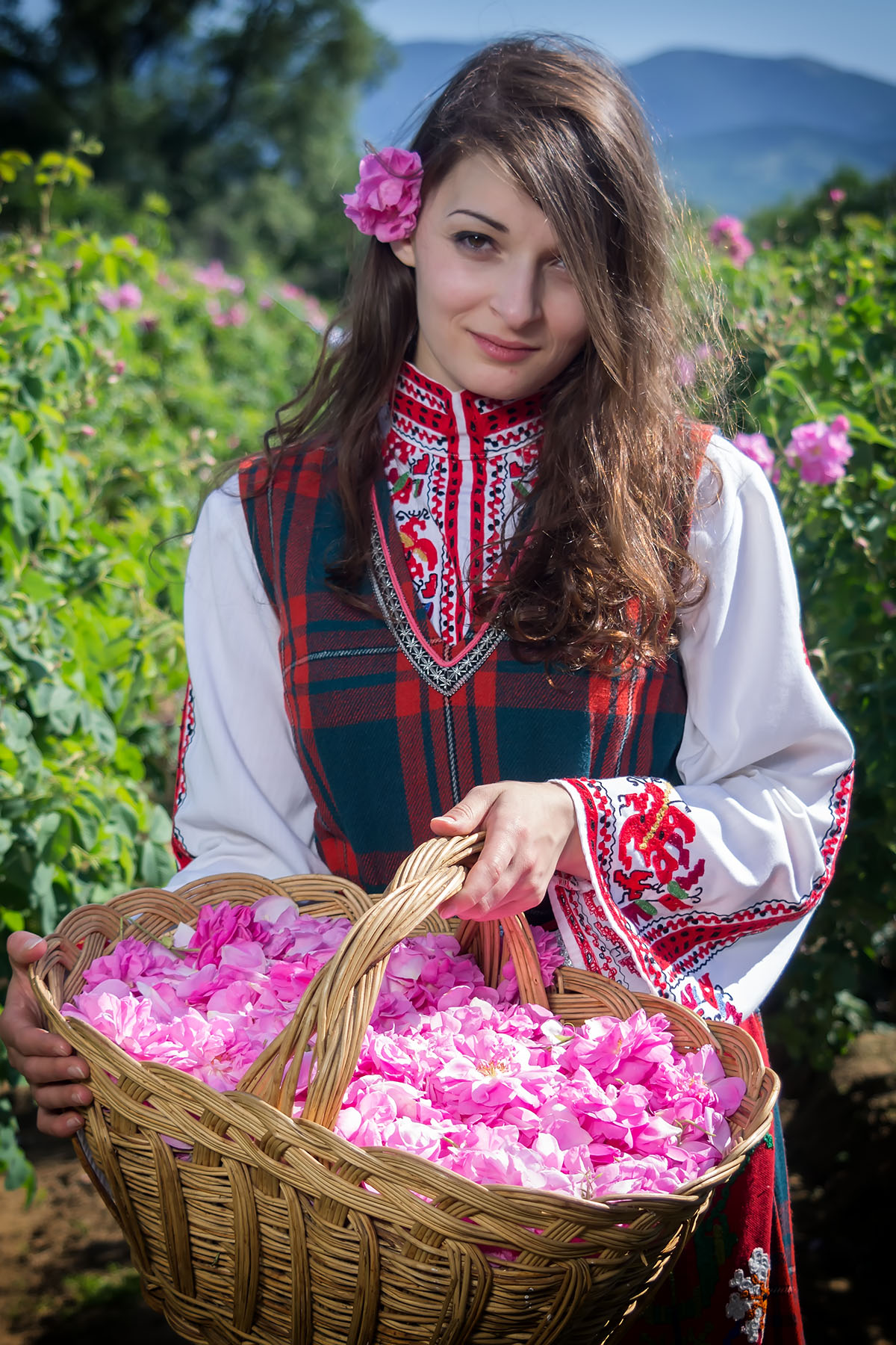 A beautiful Bulgarian girl