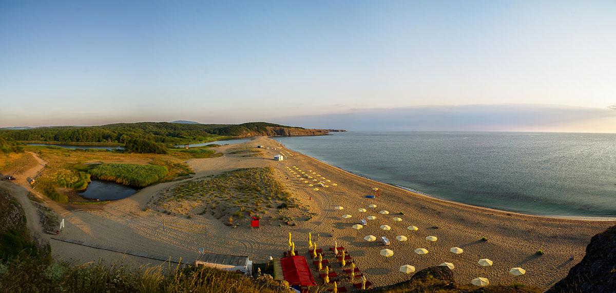 Mouth of Veleka beach near Sinemorets, Bulgaria