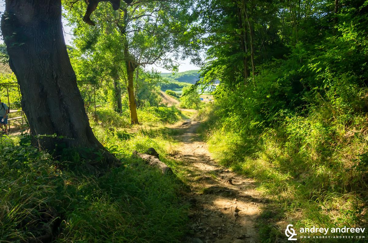 Пътека към плажа Велека