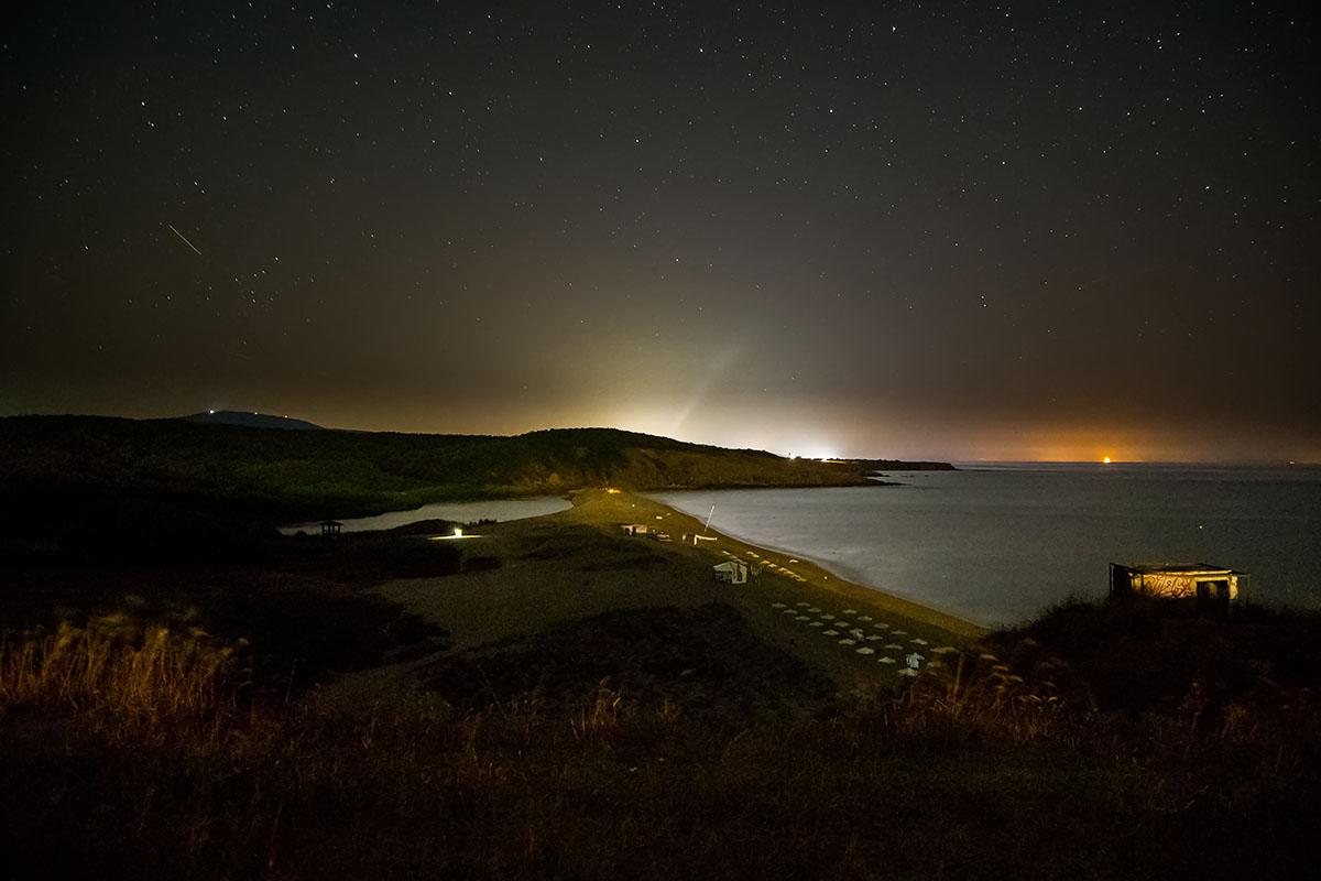 Велека през нощта