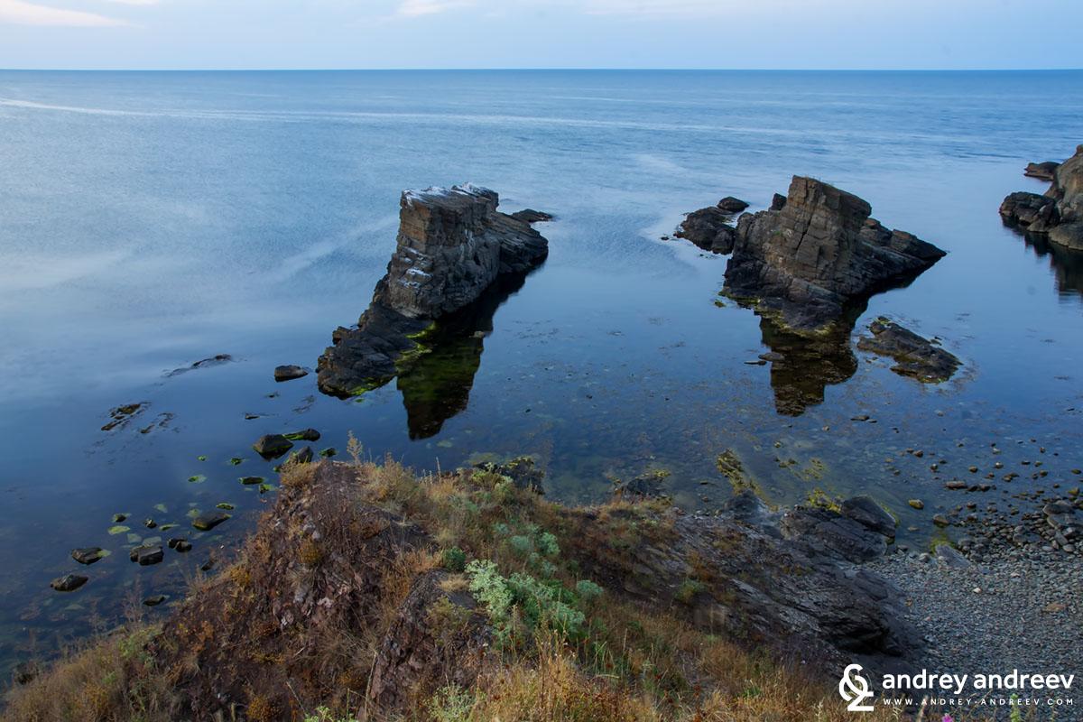 The Ships near Sinemorets, Bulgaria