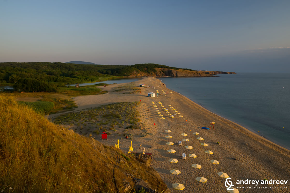 Mouth of Veleka beach, Sinemorets, Bulgaria