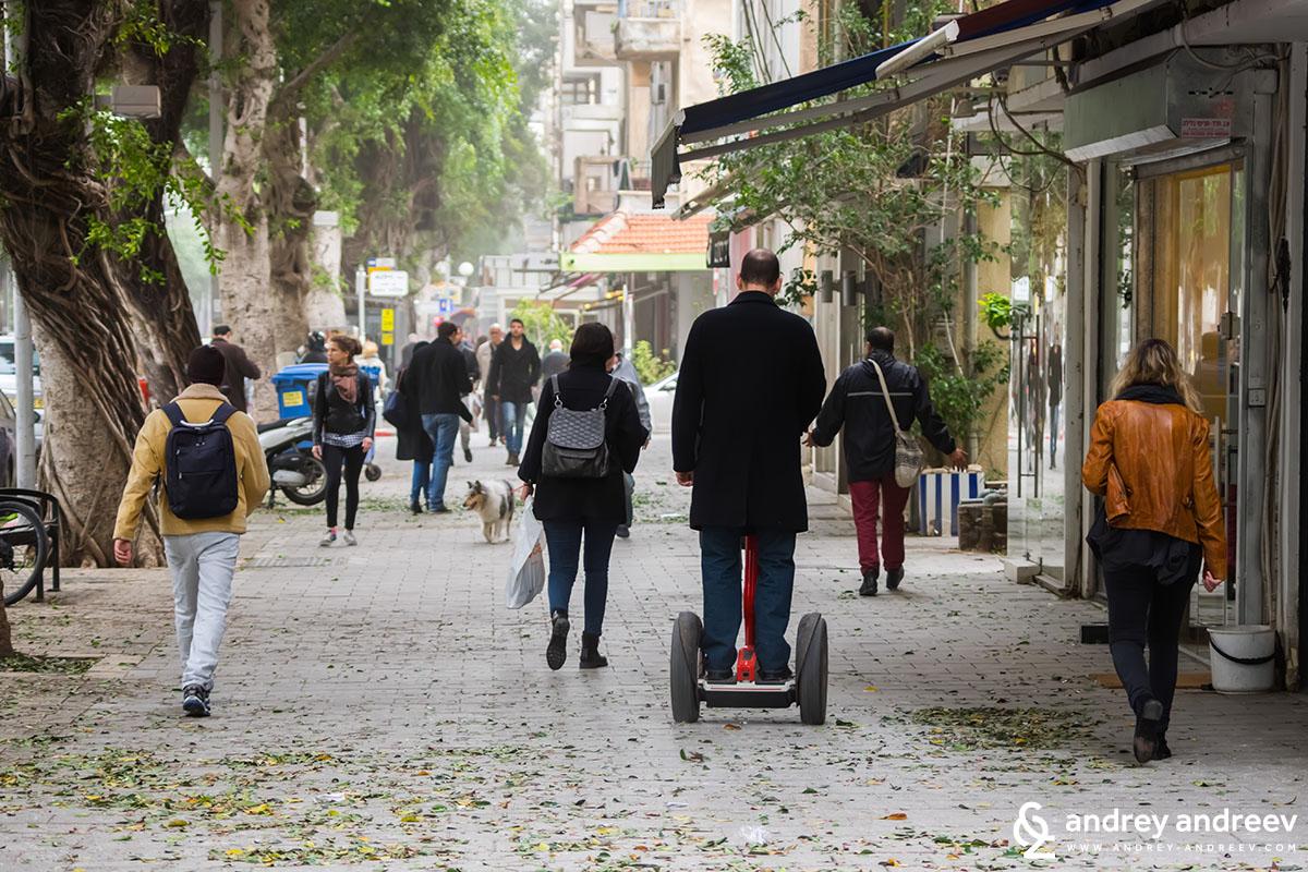 Dizengoff street again, Tel Aviv, Israel