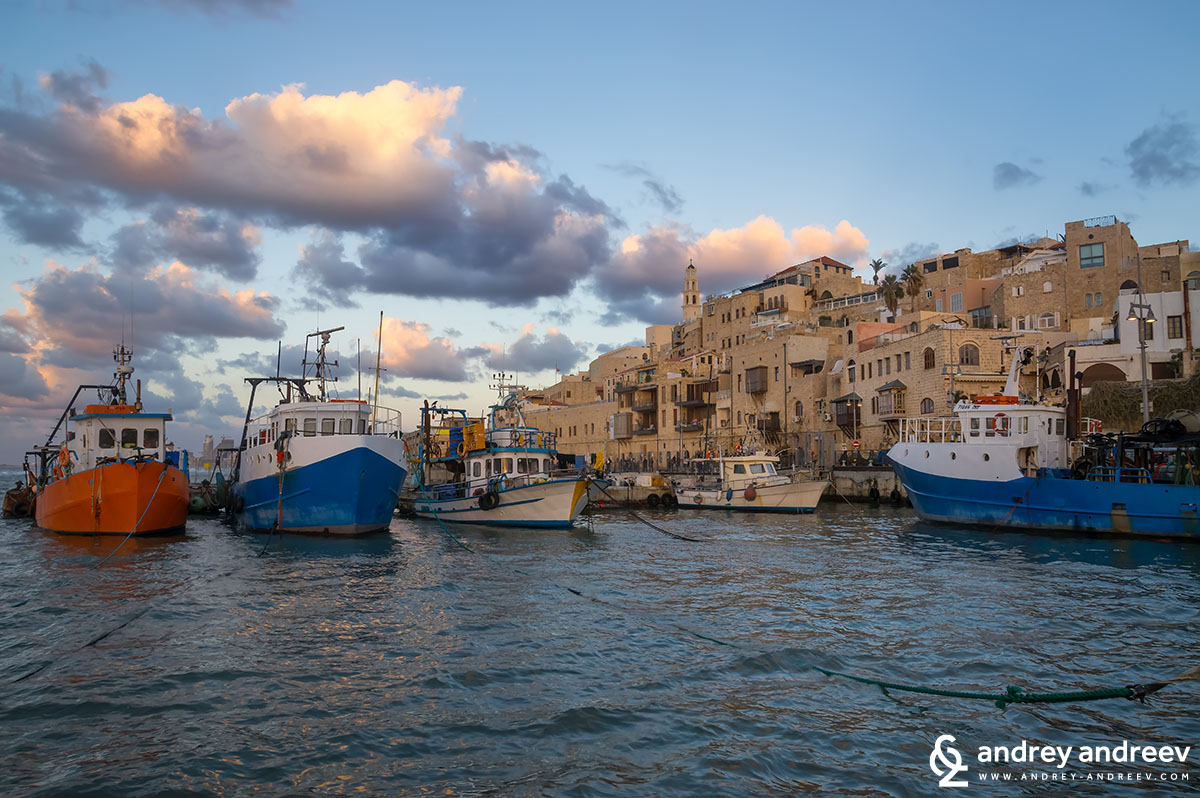 The old port of Jaffa, Tel Aviv, Israel