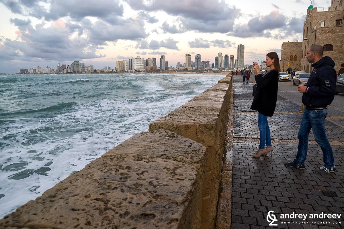 Край брега на Яфо