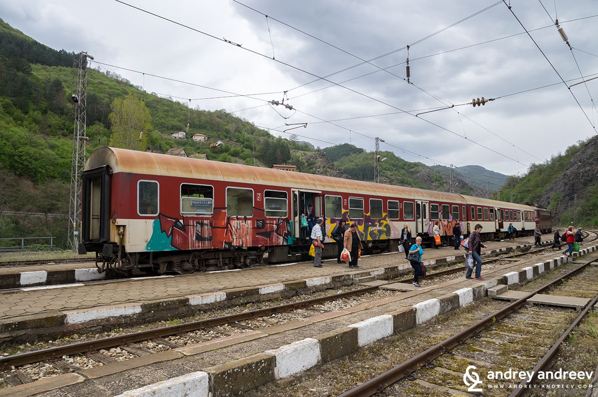 Влакът за Мездра