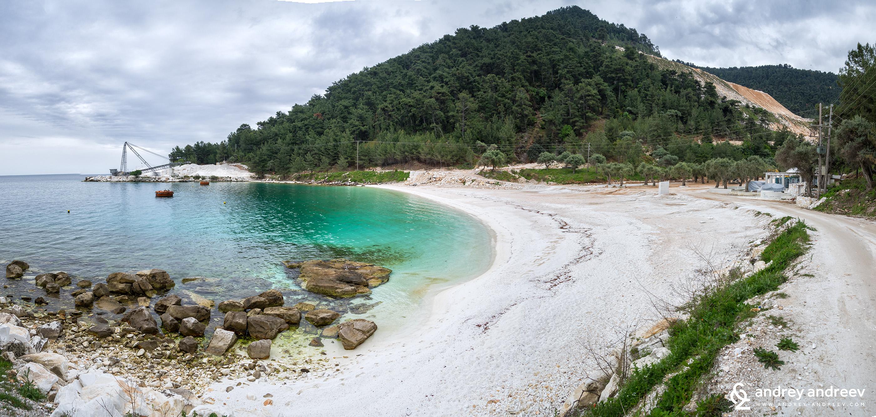 Porto Vathy Marble Beach