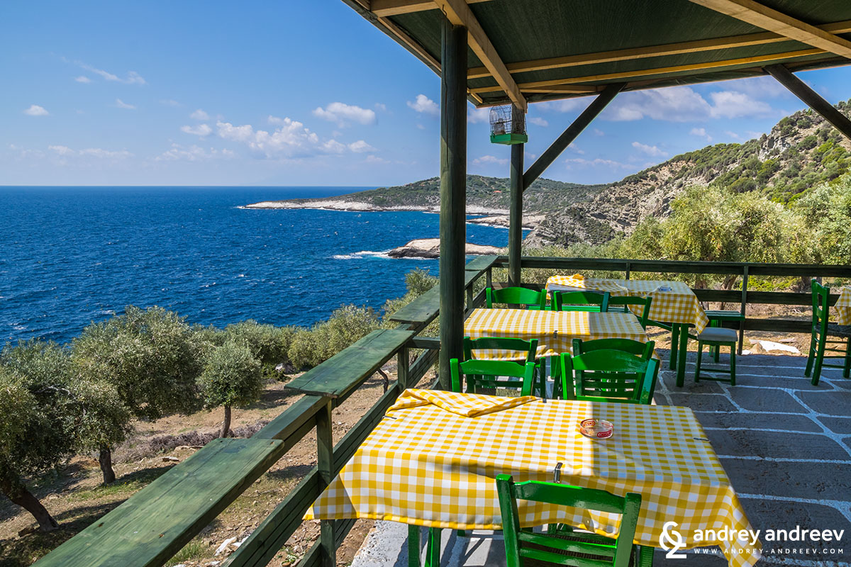 Giola Tavern, Thassos, Greece