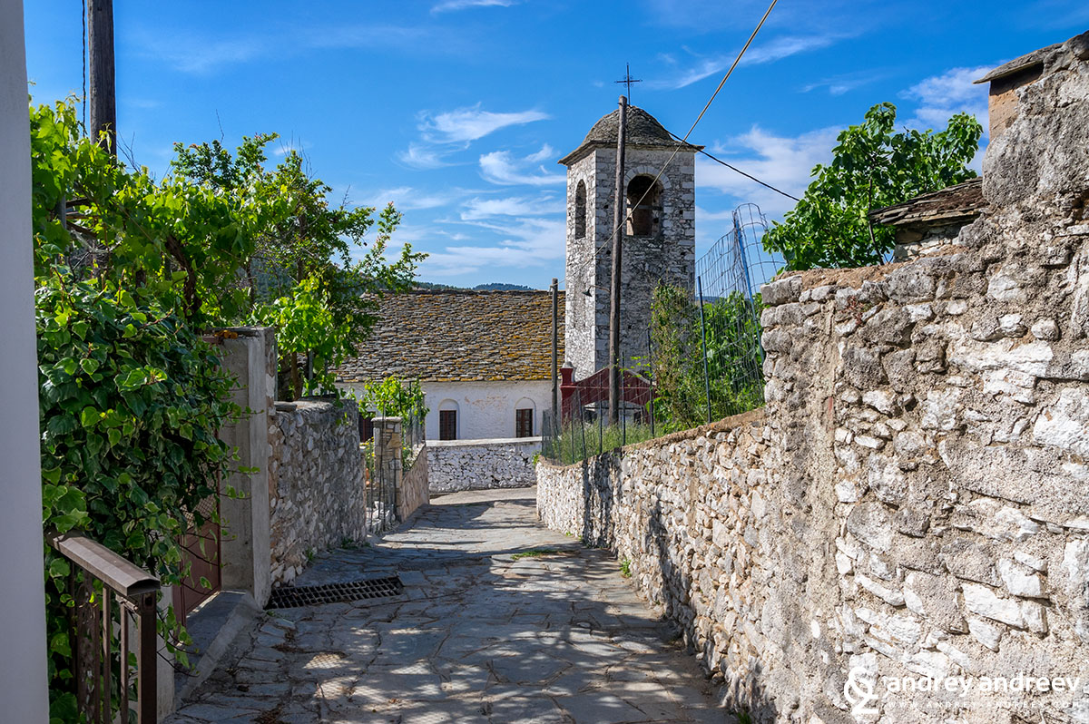 село Теологос, Тасос