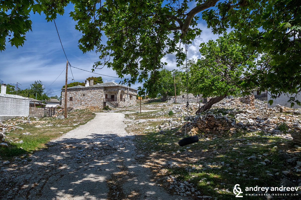 Село Кастро, Тасос