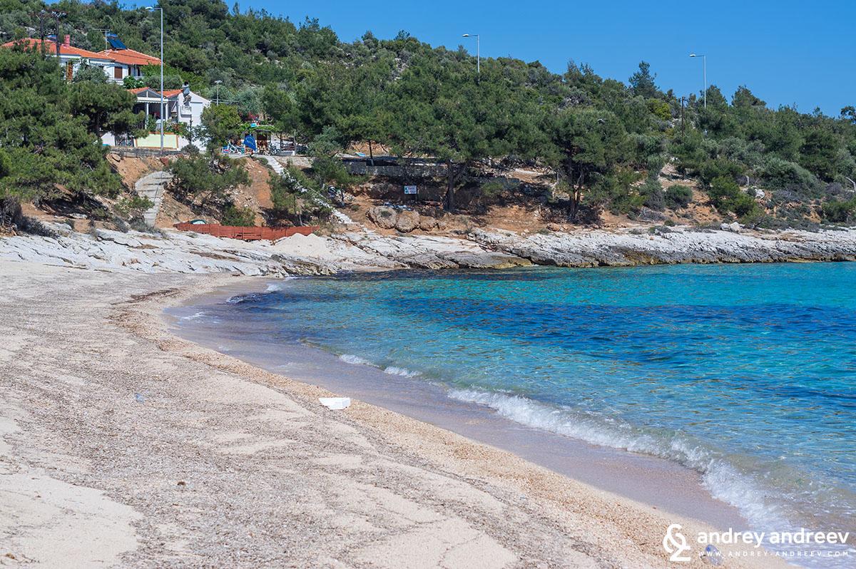 Плаж Астрис - Тасос, Гърция