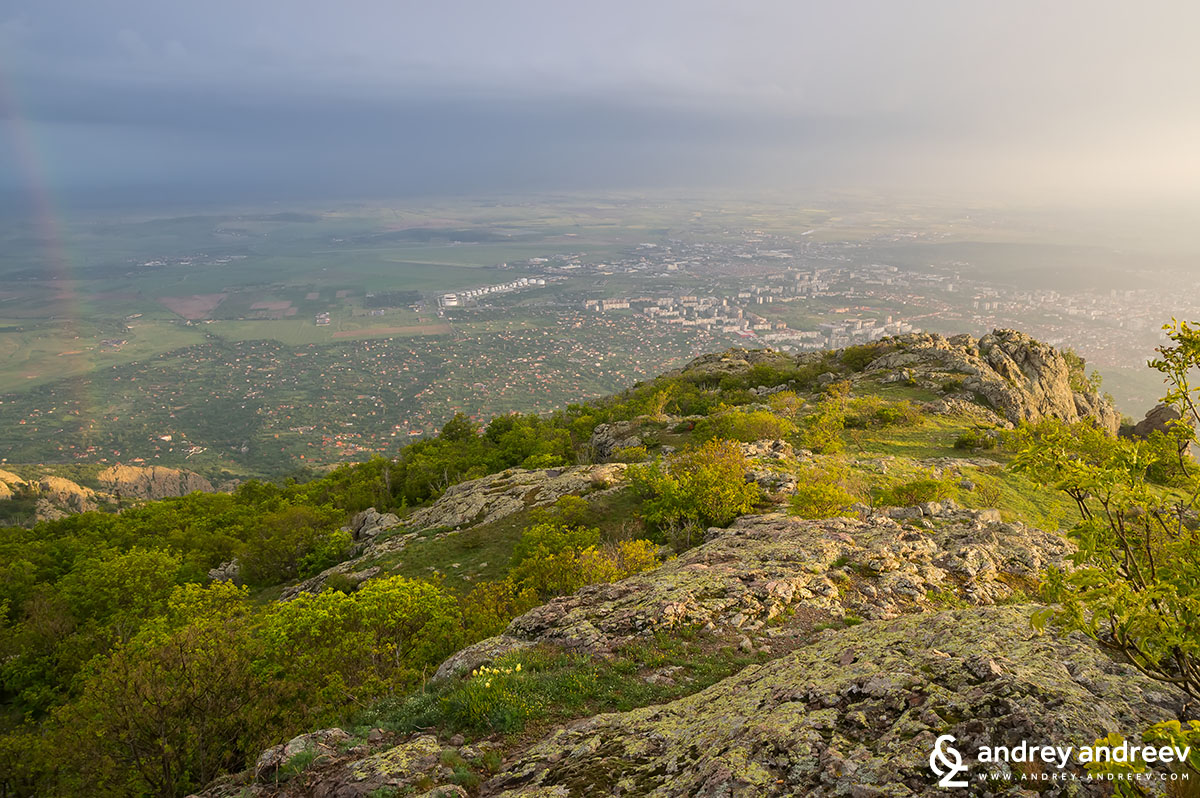 Town of Sliven, Bulgaria