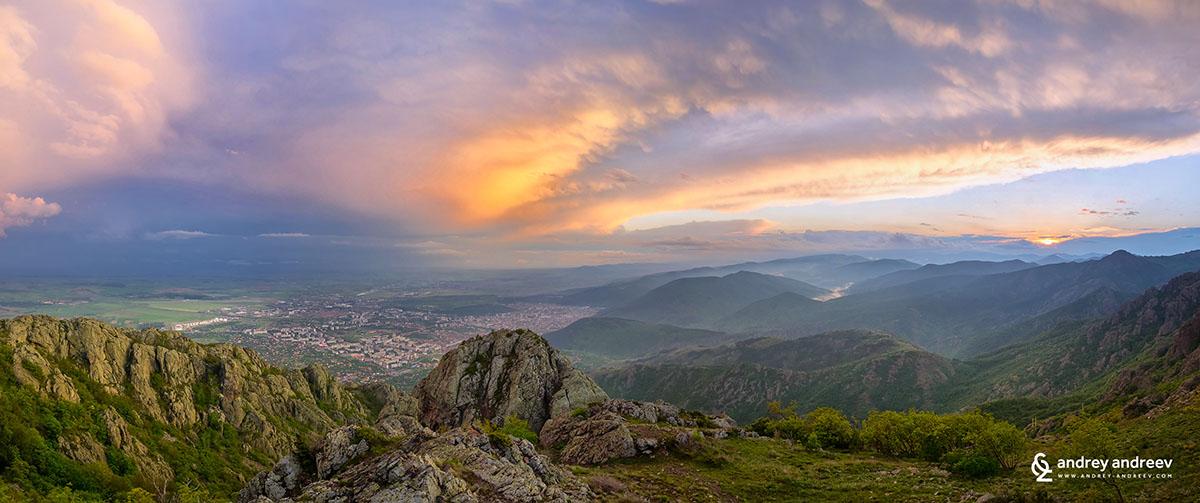 Залез над Сливен
