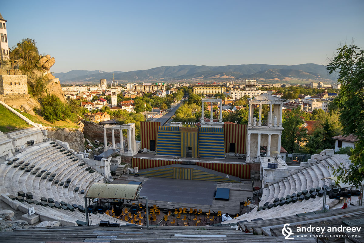 The Roman theatre in Plovdiv