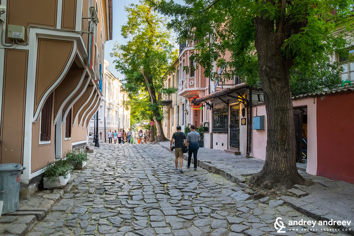 A wonderful place for walks - the Old town of Plovdiv