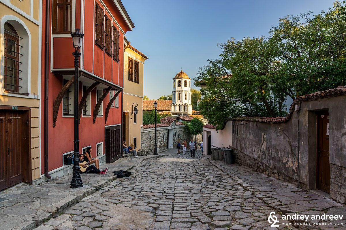 Old town of Plovdiv Bulgaria - I love these cobblestone streets