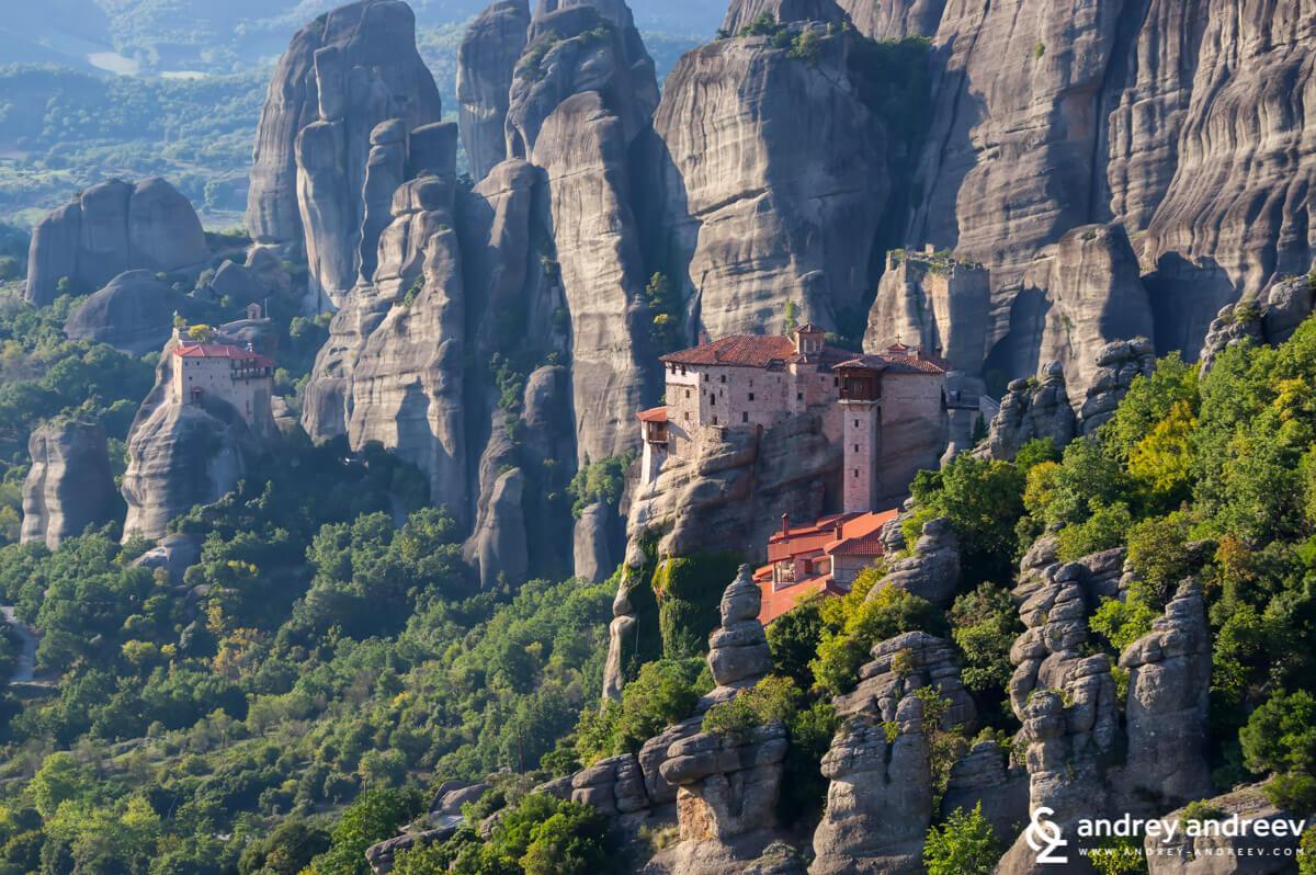Манастир Русану - Метеора, Гърция