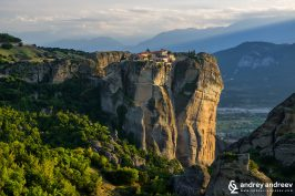 Monastery Holy Trinity, Meteora in Greece