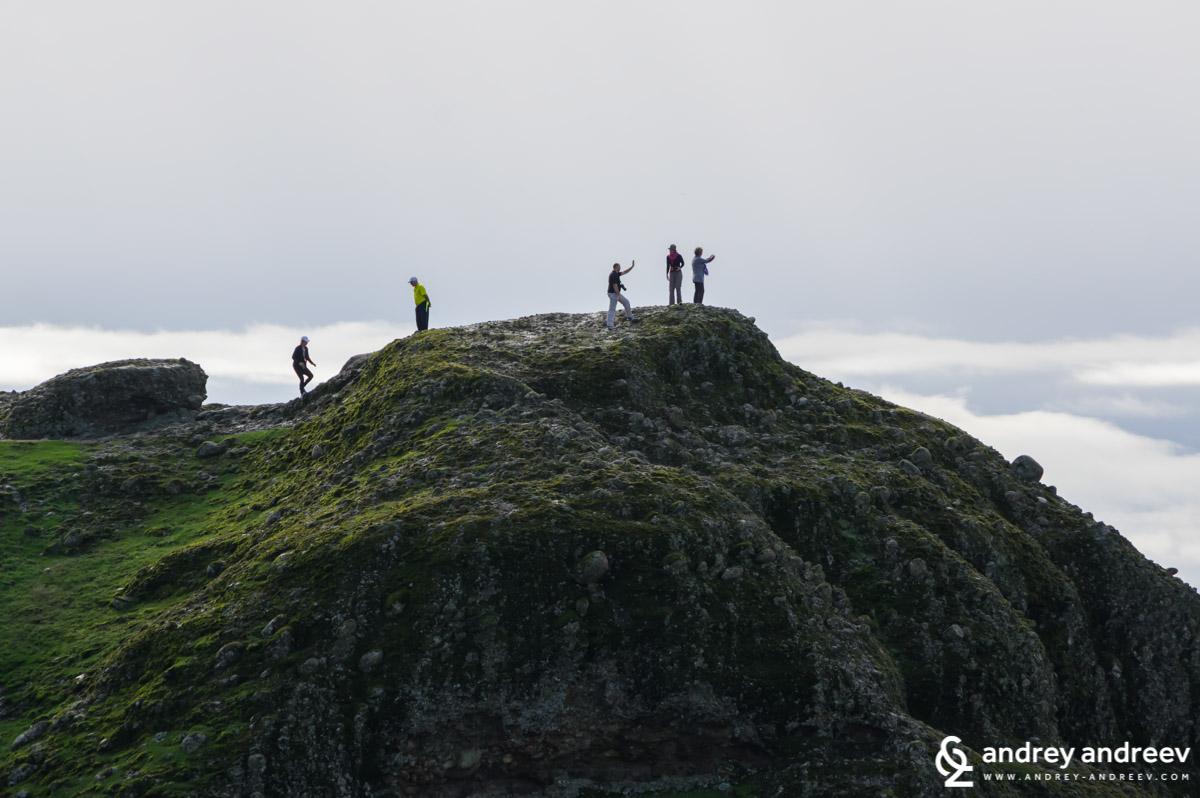 Селфита по скалите на Метеора