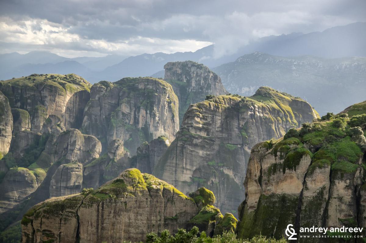The amazing rocks of Meteora