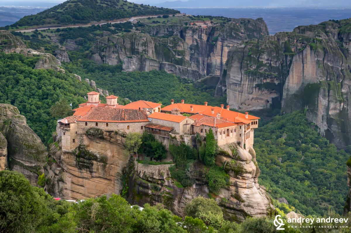 Varlaam monastery, Meteora in Greece