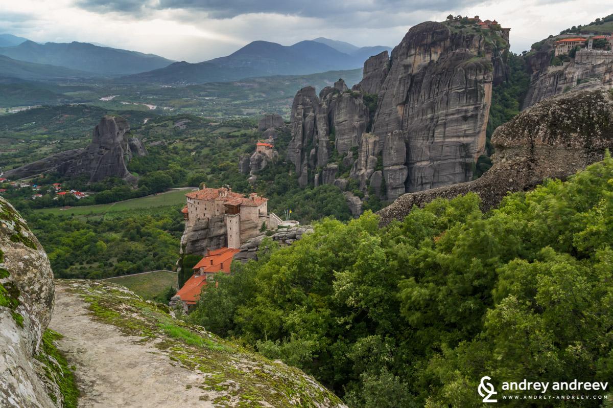 Rousanou (St. Barbara) monastery, Meteora in Greece