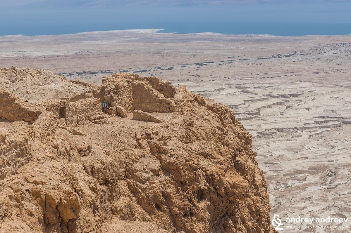 Мъртво море гледано от Масада