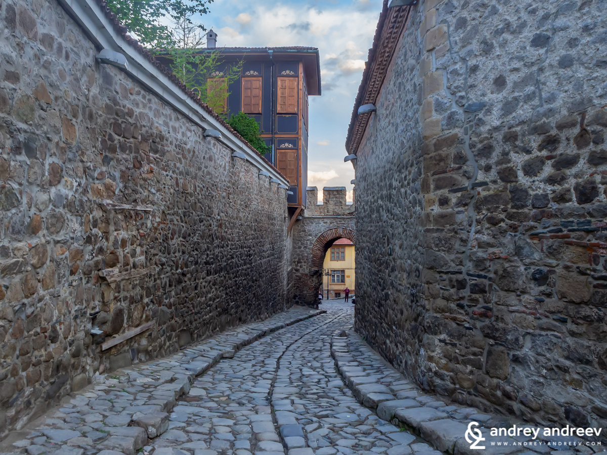 Hissar Kapia in Plovdiv Old Town