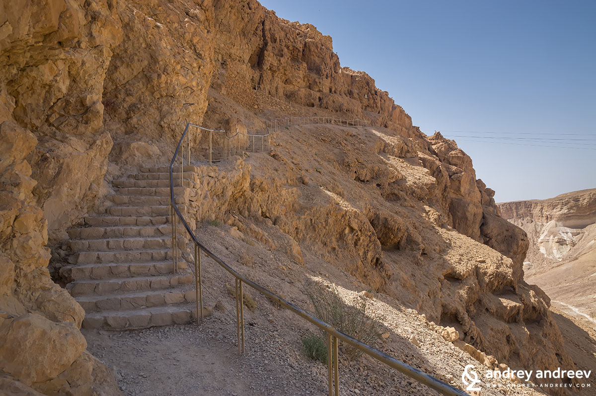 Masada from the western side