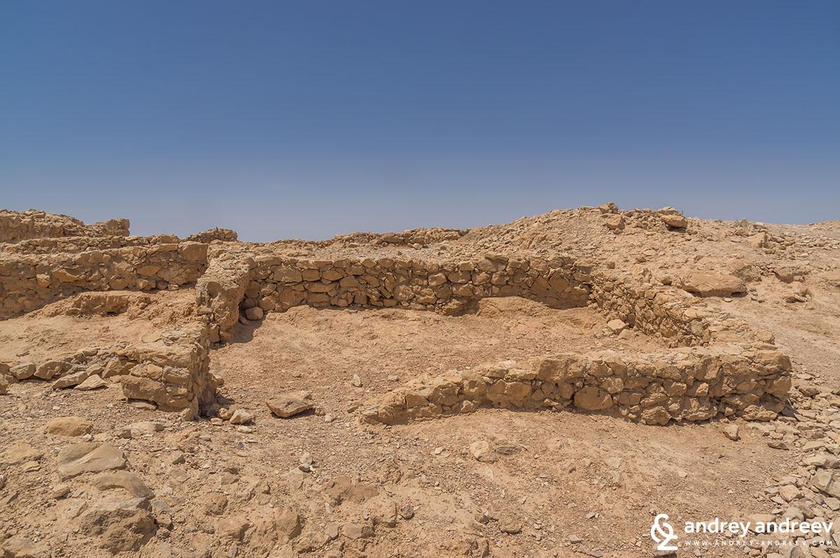 Ruins in Masada
