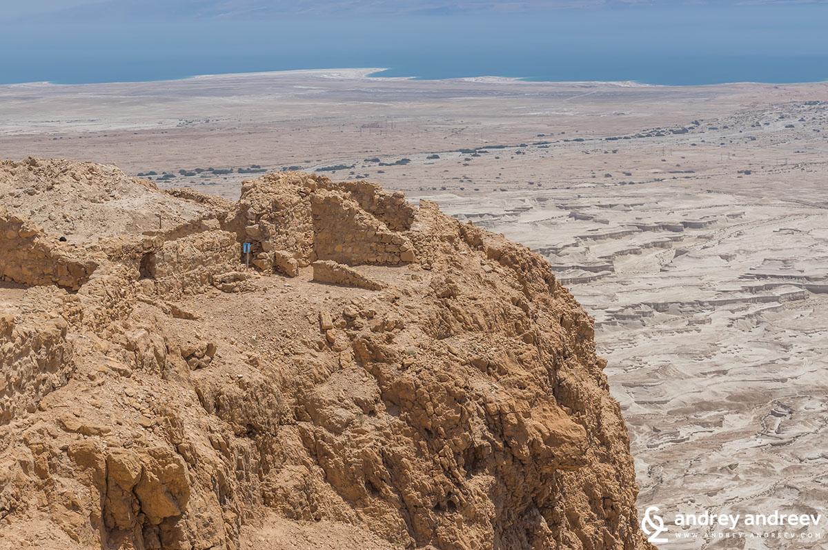 Мъртво море от Масада