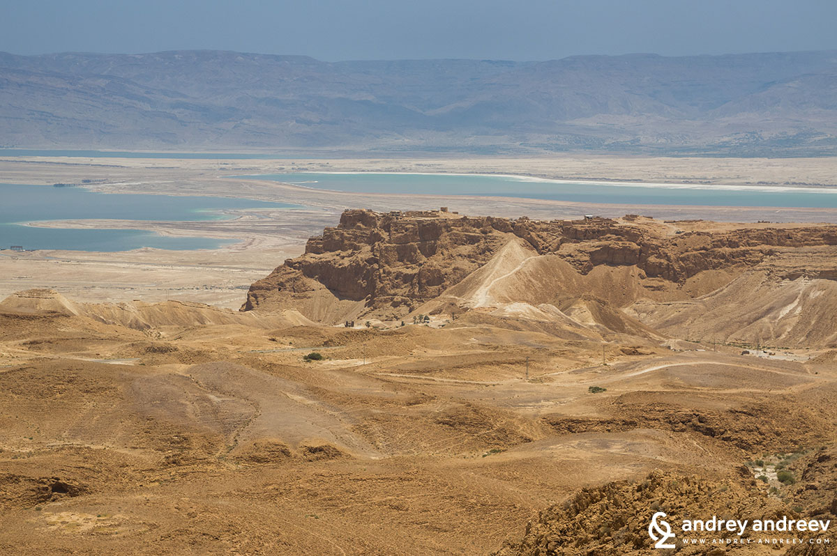 View to Masada from West