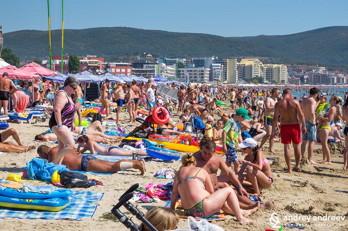Sunny Beach - the Beach