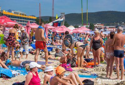 Слънчев бряг - плажът