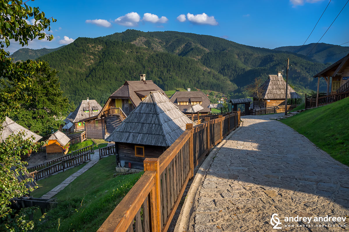 Мечавник - Дървеният град