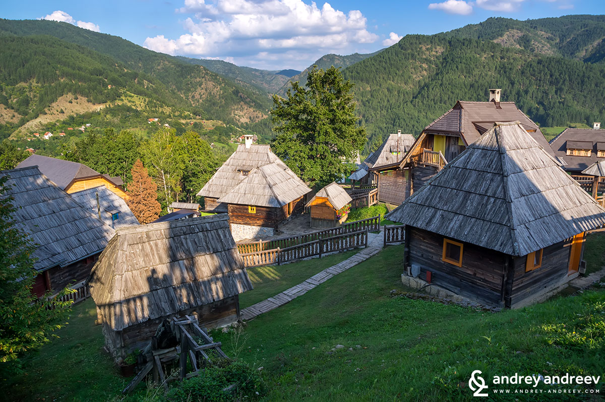 The Wooden Town of Kusturica - Ethno village Drvengrad Mecavnik