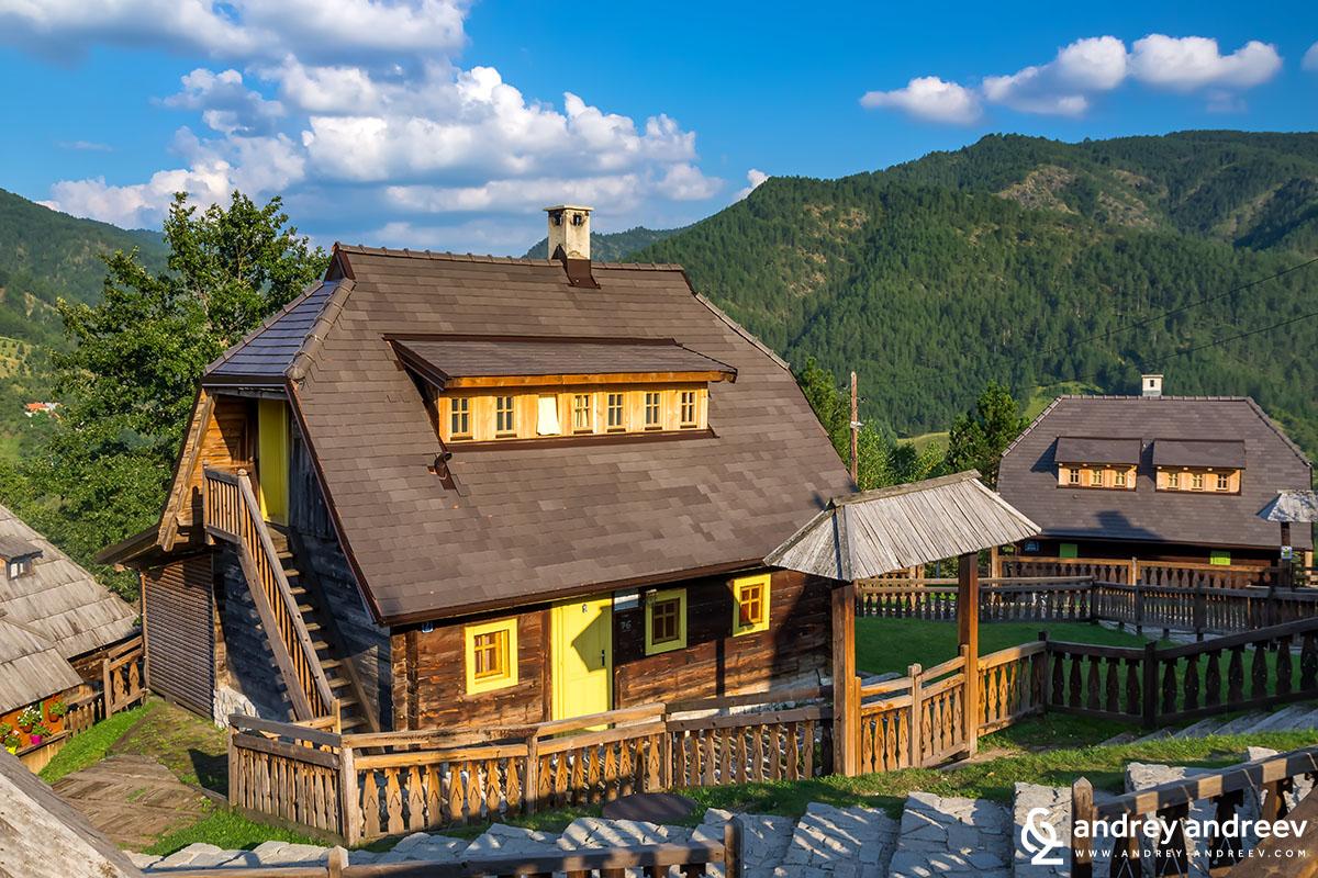 The Wooden Town of Kusturica Kustendorf Mecavnik