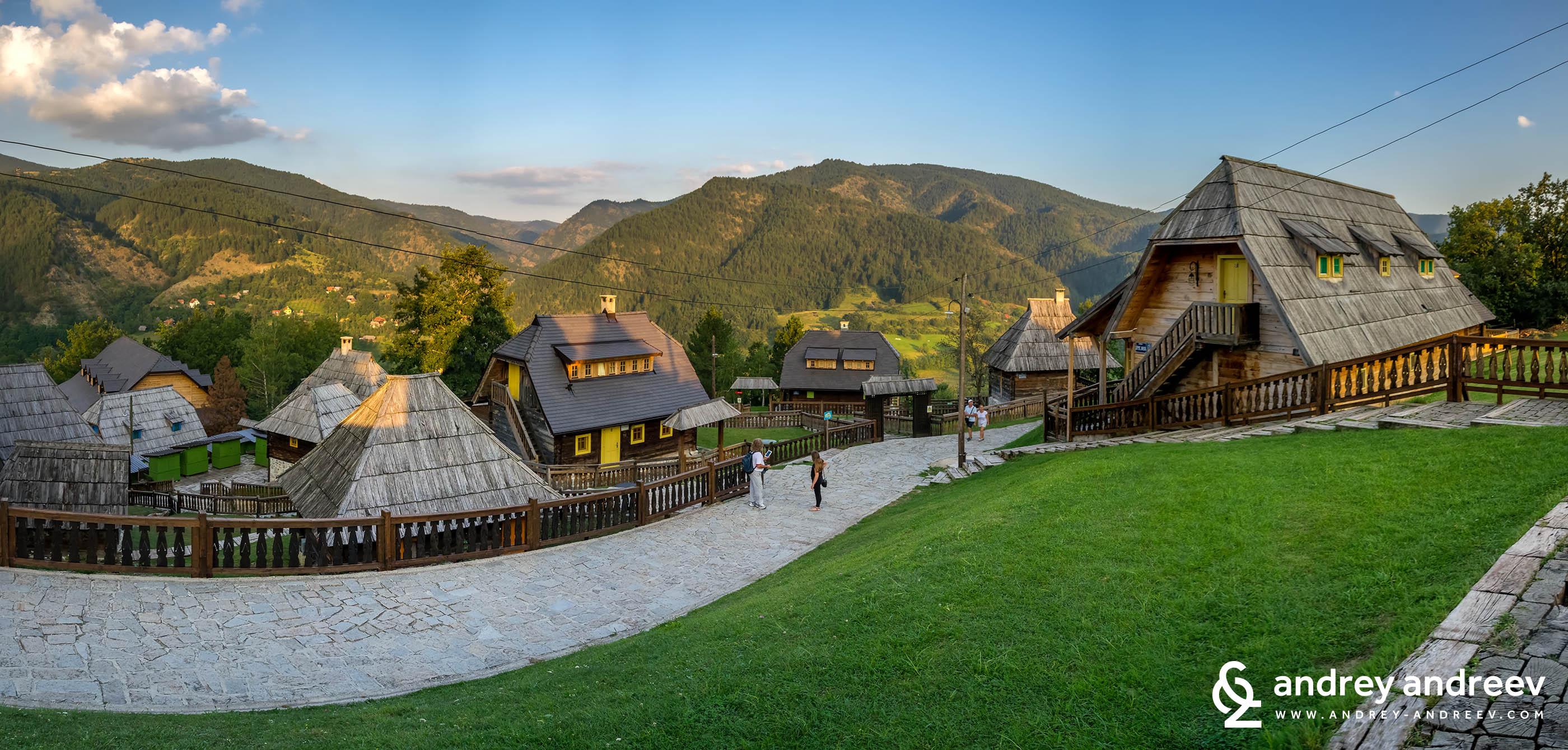 Дървения град на Кустурица – там, където животът е чудо, Сърбия