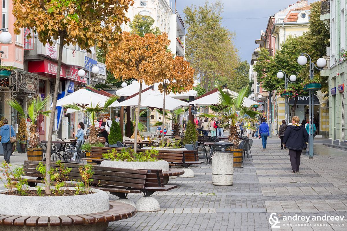 Vasil Aprilov street, Burgas