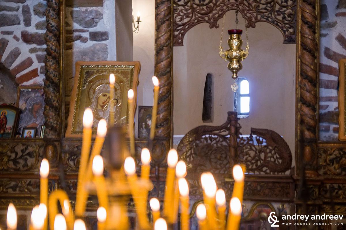 Църквата на остров Света Анастасия