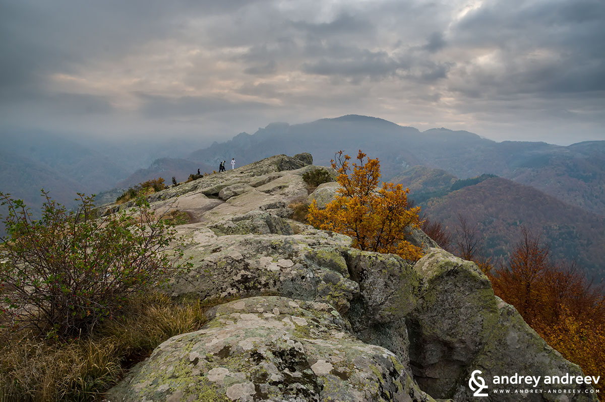 The mysterious plateau Belintash in the Rhodope mountains, Bulgaria