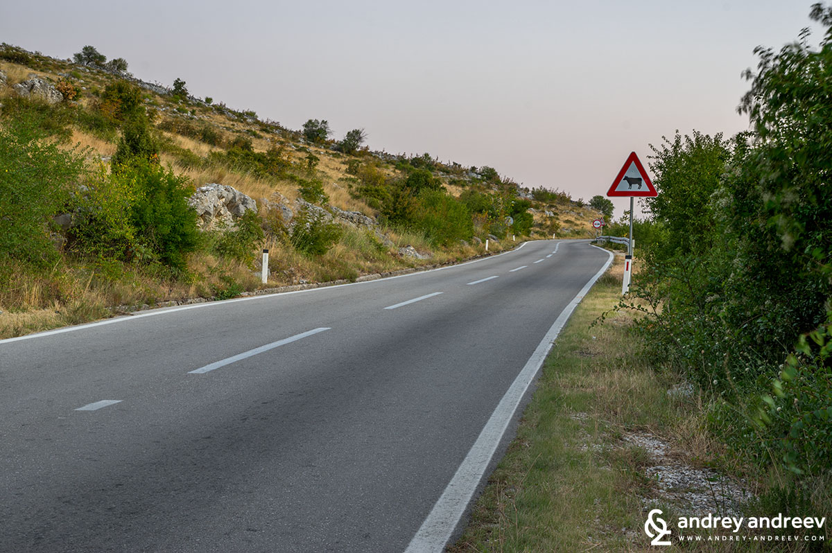 Driving to Mostar