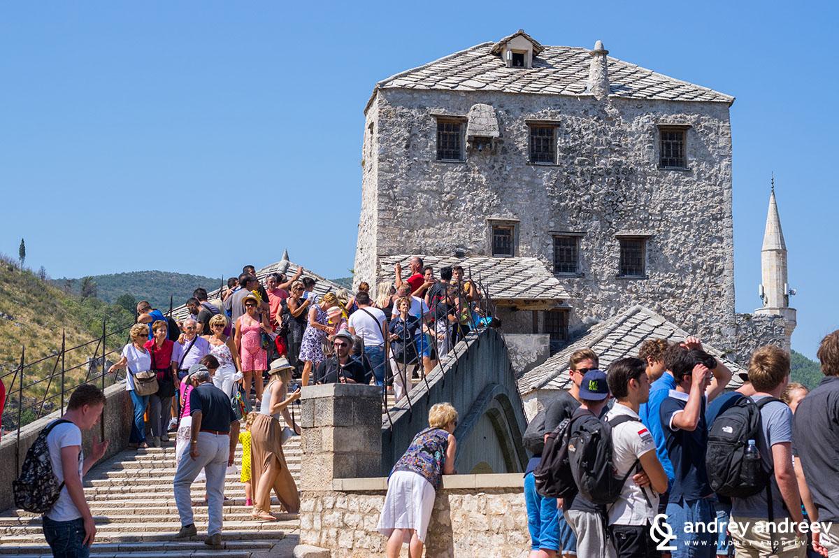 Halebija tower Mostar Old Bridge