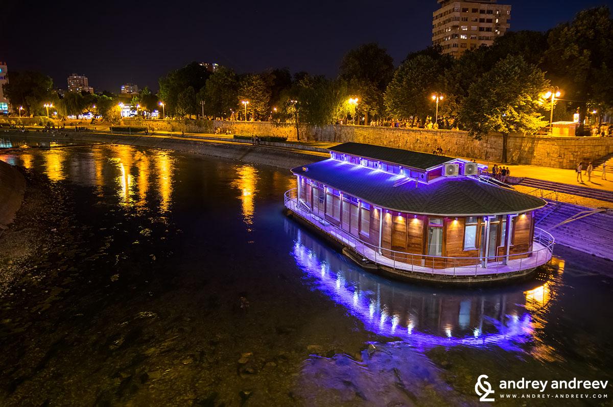 Река Нишава в Ниш