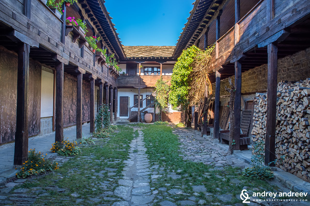 The old school in Tryavna, Bulgaria