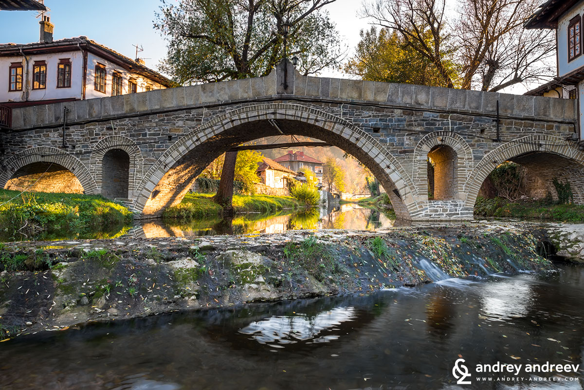 Kivgireniya bridge in Tryavna, Bulgaria