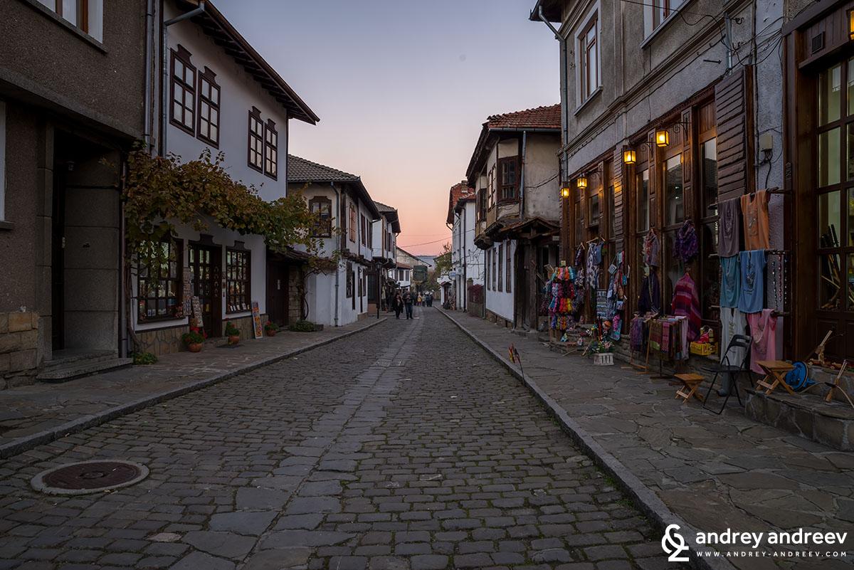 Старата чаршия в Трявна, България