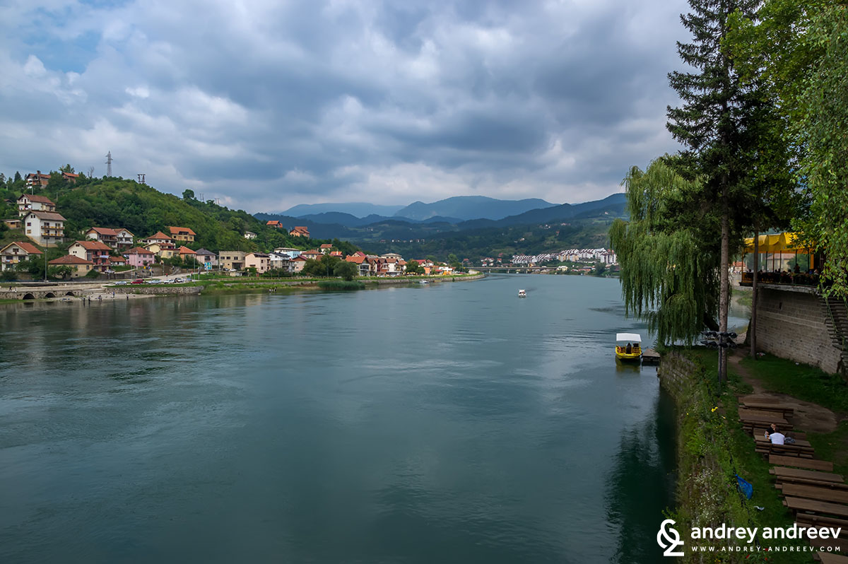 Drina river, Visegrad, Bosnia and Herzegovina